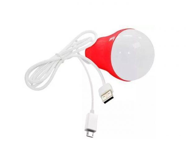 چراغ LED سیار USB دو کاره