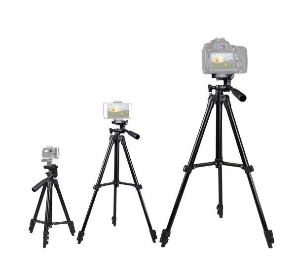 سه پایه نگهدارنده دوربین و موبایل 3120a